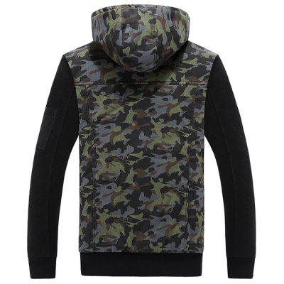 Detachable Hooded Camouflage Zip Up Fleece JacketMens Hoodies &amp; Sweatshirts<br>Detachable Hooded Camouflage Zip Up Fleece Jacket<br><br>Closure Type: Zipper<br>Clothes Type: Hoodie Jacket<br>Material: Polyester, Spandex<br>Occasion: Going Out, Daily Use, Casual<br>Package Contents: 1 x Jacket<br>Patterns: Camouflage<br>Shirt Length: Regular<br>Sleeve Length: Full<br>Style: Fashion<br>Thickness: Thick<br>Weight: 1.0700kg