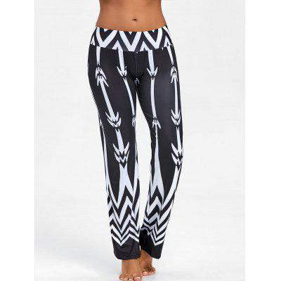 Zigzag Print High Waist PantsPants<br>Zigzag Print High Waist Pants<br><br>Closure Type: Elastic Waist<br>Fit Type: Regular<br>Length: Normal<br>Material: Cotton, Polyester<br>Package Contents: 1 x Pants<br>Pant Style: Wide Leg Pants<br>Pattern Type: Chevron/Zig Zag<br>Style: Fashion<br>Waist Type: High<br>Weight: 0.2800kg