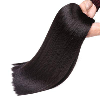 Long Straight Heat Resistant Synthetic Hair Weave