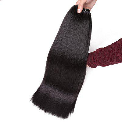 Long Straight Heat Resistant Synthetic Hair WeaveHair Extensions<br>Long Straight Heat Resistant Synthetic Hair Weave<br><br>Fabric: Synthetic Hair<br>Hair Extension Type: Hair Weft<br>Length: Long<br>Length Size(Inch): 20<br>Package Contents: 1 x Hair Weave<br>Style: Straight<br>Weight: 0.1100kg