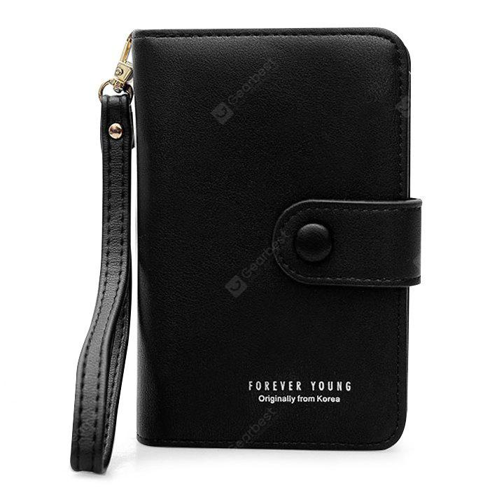 Faux Leather Multi Function Monedero billetera