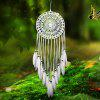 Handmade Dream Catcher Wall Hanging Art Decor - WHITE