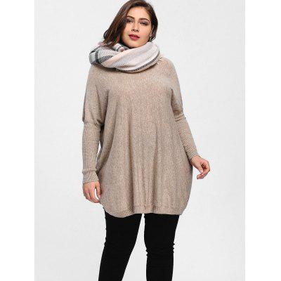 Plus Size Dolman Sleeve Tunic SweaterPlus Size<br>Plus Size Dolman Sleeve Tunic Sweater<br><br>Collar: Round Neck<br>Material: Polyester<br>Package Contents: 1 x Sweater<br>Pattern Type: Solid<br>Season: Winter, Spring<br>Sleeve Length: Full<br>Style: Fashion<br>Type: Pullovers<br>Weight: 0.3800kg