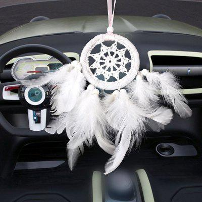 Lace Feather Hanging Handmade Dreamcatcher Ornament