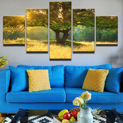 Tree Of Life Printed Unframed Canvas Wall Art Paintings
