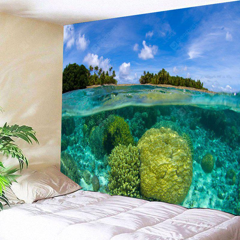 Marshall Islands Coral Reef Pattern Wall Hanging Tapestry