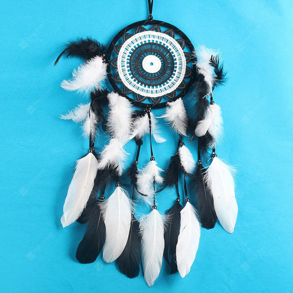 Floral Feather Hanging Handmade Dreamcatcher Decoration