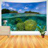 Marshall Islands Coral Reef Pattern Wall Hanging Tapestry - COLORMIX