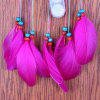 Indian Style Rainbow Christmas Light Feather Dreamcatcher - COLORFUL
