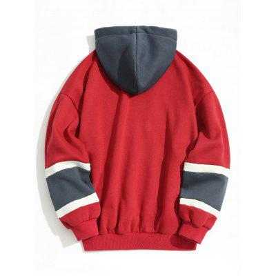 Fleece Lining Color Block HoodieMens Hoodies &amp; Sweatshirts<br>Fleece Lining Color Block Hoodie<br><br>Material: Polyester<br>Package Contents: 1 x Hoodie<br>Pattern Type: Color Block<br>Shirt Length: Regular<br>Sleeve Length: Full<br>Style: Fashion<br>Weight: 0.8350kg