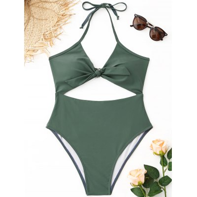Cutout Halter High Cut Swimsuit 1000pcs s9014c to 92 s9014 npn transistor
