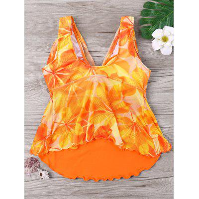 Pintuck Leaf Print Tankini SetLingerie &amp; Shapewear<br>Pintuck Leaf Print Tankini Set<br><br>Bra Style: Padded<br>Elasticity: Micro-elastic<br>Gender: For Women<br>Material: Polyester, Spandex<br>Neckline: Plunging Neck<br>Package Contents: 1 x Tank Top  1 x Shorts<br>Pattern Type: Leaf<br>Style: Cute<br>Support Type: Underwire<br>Swimwear Type: Tankini<br>Waist: Natural<br>Weight: 0.2000kg