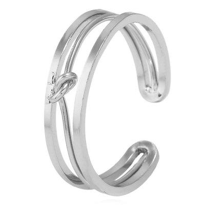 Alloy Hollow Out Open Ring