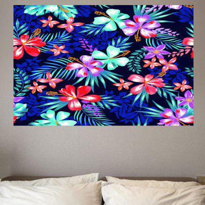 Flower Pattern Removable Environmental Wall Sticker
