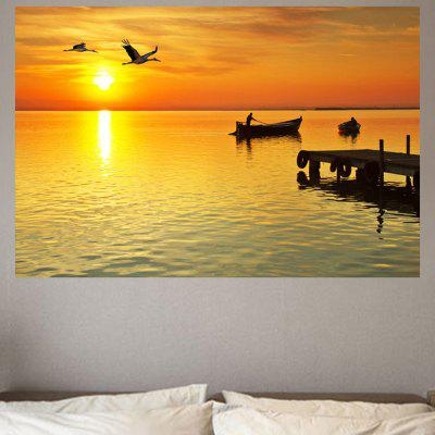 Boat Flyer Print Environmental Removable Wall Sticker