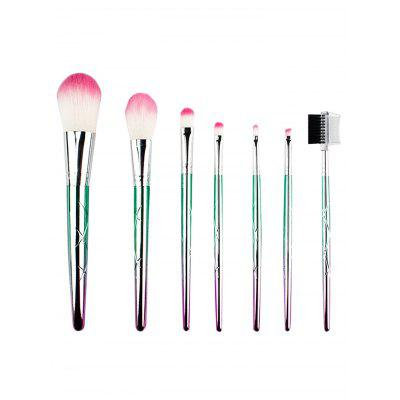 Multifuncional 7Pcs Ombre Fiber Makeup Brush Set