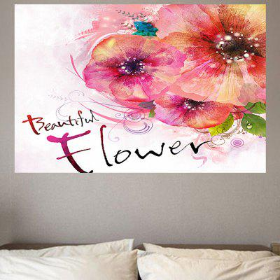 Creative Flowers Environmental Removable Wall Sticker