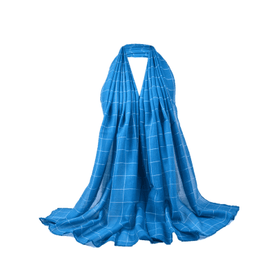 Simple Checkered Pattern Embellished Long ScarfScarves<br>Simple Checkered Pattern Embellished Long Scarf<br><br>Gender: For Women<br>Group: Adult<br>Length (CM): 180CM<br>Material: Polyester<br>Package Contents: 1 x Scarf<br>Pattern Type: Plaid<br>Scarf Length: Above 175CM<br>Scarf Type: Scarf<br>Scarf Width (CM): 80CM<br>Season: Spring, Winter, Fall<br>Style: Vintage<br>Weight: 0.0910kg