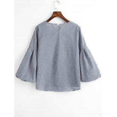 Lantern Sleeve Pleated Plaid BlouseBlouses<br>Lantern Sleeve Pleated Plaid Blouse<br><br>Collar: Round Neck<br>Embellishment: Pleated<br>Material: Polyester<br>Occasion: Casual<br>Package Contents: 1 x Blouse<br>Pattern Type: Plaid<br>Shirt Length: Regular<br>Sleeve Length: Full<br>Sleeve Type: Lantern Sleeve<br>Style: Casual<br>Weight: 0.2450kg