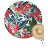 Tropical Palm Leaf Print Beach Throw - COLORES MEZCLADOS