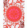 Round Totem Print Beach Throw - COLORES MEZCLADOS