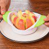 Stainless Steel Apple Cutter Tools Fruit Slicer - YELLOW GREEN