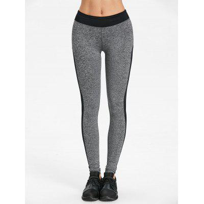 Heather Two Tone Yoga LeggingsPants<br>Heather Two Tone Yoga Leggings<br><br>Closure Type: Elastic Waist<br>Fit Type: Skinny<br>Length: Normal<br>Material: Polyester<br>Package Contents: 1 x Leggings<br>Pant Style: Pencil Pants<br>Pattern Type: Others<br>Style: Active<br>Waist Type: Mid<br>Weight: 0.2400kg