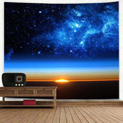 Starry Sky Print Wall Hanging Bedroom TapestryBlankets &amp; Throws<br>Starry Sky Print Wall Hanging Bedroom Tapestry<br><br>Feature: Removable, Washable<br>Material: Polyester<br>Package Contents: 1 x Tapestry<br>Shape/Pattern: Print<br>Style: Fashion<br>Weight: 0.2200kg