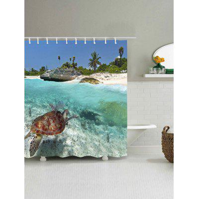 Seaside Turtle Print Waterproof Polyester Bath CurtainShower Curtain<br>Seaside Turtle Print Waterproof Polyester Bath Curtain<br><br>Materials: Polyester<br>Number of Hook Holes: W59 inch*L71 inch: 10; W65 inch*L71 inch: 10; W71 inch*L71 inch: 12; W71 inch*L79 inch: 12<br>Package Contents: 1 x Shower Curtain 1 x Hooks (Set)<br>Pattern: Animal<br>Products Type: Shower Curtains<br>Style: Beach Style