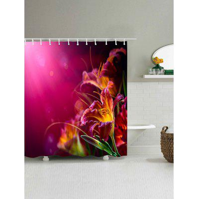 Flower Print Waterproof Polyester Shower CurtainShower Curtain<br>Flower Print Waterproof Polyester Shower Curtain<br><br>Materials: Polyester<br>Number of Hook Holes: W59 inch*L71 inch: 10; W65 inch*L71 inch: 10; W71 inch*L71 inch: 12; W71 inch*L79 inch: 12<br>Package Contents: 1 x Shower Curtain 1 x Hooks (Set)<br>Pattern: Floral<br>Products Type: Shower Curtains<br>Style: Fashion