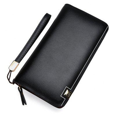 Minimalist PU Leather Wristlets Wallet
