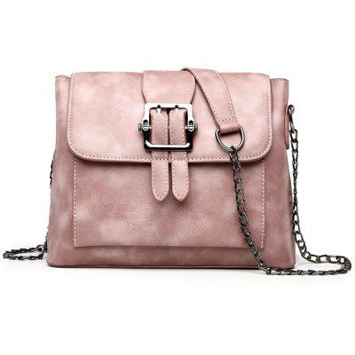 Angeschnallter Kettengurt Crossbody Bag