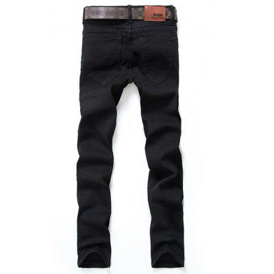 Zipper Fly Straight Leg Classical Denim PantsMens Pants<br>Zipper Fly Straight Leg Classical Denim Pants<br><br>Closure Type: Zipper Fly<br>Fit Type: Regular<br>Material: Cotton, Jean<br>Package Contents: 1 x Jeans<br>Pant Length: Long Pants<br>Pant Style: Straight<br>Wash: Medium<br>Weight: 0.5300kg<br>With Belt: No