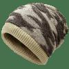 Multifunctional Empty Top Reversible Knitted Beanie - PALOMINO