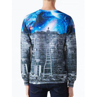 Walls Night Sky 3D Pullover SweatshirtMens Hoodies &amp; Sweatshirts<br>Walls Night Sky 3D Pullover Sweatshirt<br><br>Material: Polyester<br>Package Contents: 1 x Sweatshirt<br>Shirt Length: Regular<br>Sleeve Length: Full<br>Style: Fashion<br>Weight: 0.4000kg