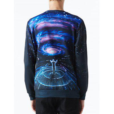 Space Concert Galaxy Print SweatshirtMens Hoodies &amp; Sweatshirts<br>Space Concert Galaxy Print Sweatshirt<br><br>Material: Polyester<br>Package Contents: 1 x Sweatshirt<br>Shirt Length: Regular<br>Sleeve Length: Full<br>Style: Fashion<br>Weight: 0.4000kg
