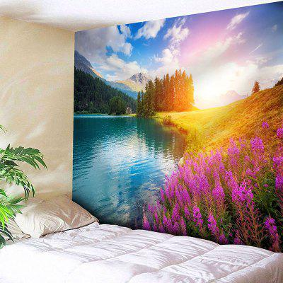 Wall Hanging Natural Landscape Print Tapestry