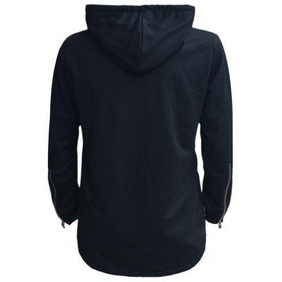 Longline Pouch Pocket Pullover HoodieMens Hoodies &amp; Sweatshirts<br>Longline Pouch Pocket Pullover Hoodie<br><br>Clothes Type: Hoodie<br>Material: Cotton, Polyester<br>Occasion: Going Out, Daily Use, Casual<br>Package Contents: 1 x Hoodie<br>Patterns: Solid<br>Shirt Length: X-Long<br>Sleeve Length: Full<br>Style: Fashion<br>Thickness: Regular<br>Weight: 0.5600kg