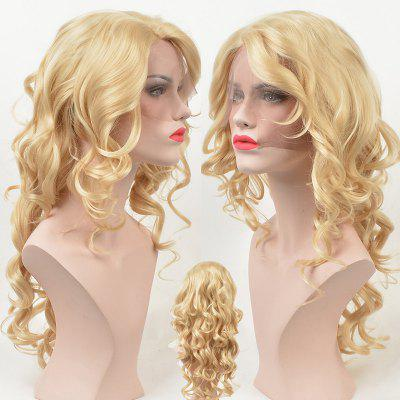 Long Side Parting Loose Wave Lace Front Synthetic Wig