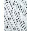 Mechanical Eye Print Flannel Skidproof Bath Rug - COLORMIX