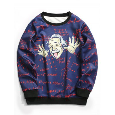 Crew Neck Function Graphic Sweatshirt