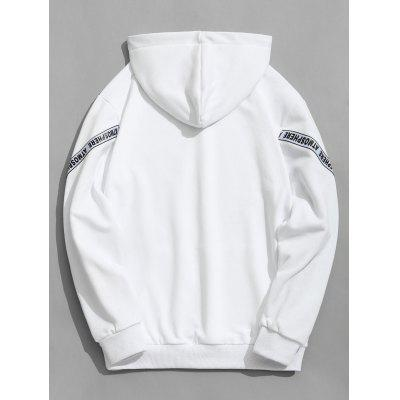 Letter Mens HoodieMens Hoodies &amp; Sweatshirts<br>Letter Mens Hoodie<br><br>Material: Polyester<br>Package Contents: 1 x Hoodie<br>Pattern Type: Letter<br>Shirt Length: Regular<br>Sleeve Length: Full<br>Style: Casual<br>Weight: 0.7200kg