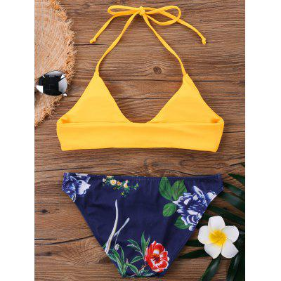 Halter Neck Hawaiian Bikini SetLingerie &amp; Shapewear<br>Halter Neck Hawaiian Bikini Set<br><br>Bra Style: Padded<br>Elasticity: Micro-elastic<br>Gender: For Women<br>Material: Polyester, Spandex<br>Neckline: Halter<br>Package Contents: 1 x Bra  1 x Briefs<br>Pattern Type: Floral<br>Style: Cute<br>Support Type: Wire Free<br>Swimwear Type: Bikini<br>Waist: Low Waisted<br>Weight: 0.1700kg