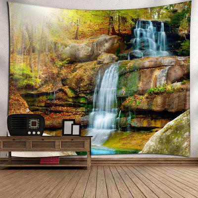 Natural Landscape Waterfall Print Wall Hanging TapestryBlankets &amp; Throws<br>Natural Landscape Waterfall Print Wall Hanging Tapestry<br><br>Feature: Removable, Washable<br>Material: Nylon, Polyester<br>Package Contents: 1 x Tapestry<br>Shape/Pattern: Tree,Water<br>Style: Natural<br>Theme: Landscape<br>Weight: 0.1800kg