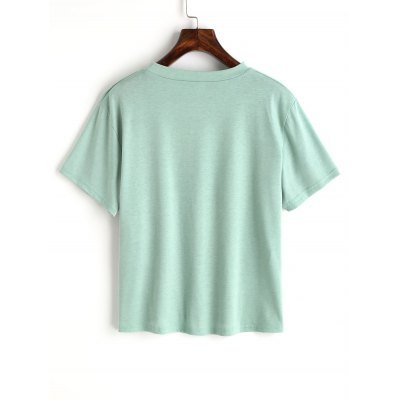 Character Letter Cotton TopTees<br>Character Letter Cotton Top<br><br>Collar: Round Neck<br>Material: Cotton, Polyester<br>Package Contents: 1 x Top<br>Pattern Type: Print<br>Seasons: Summer<br>Shirt Length: Short<br>Sleeve Length: Short<br>Style: Fashion<br>Weight: 0.2100kg
