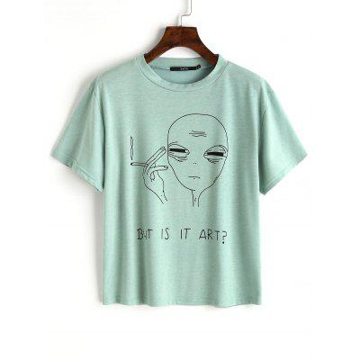 Character Letter Cotton Top