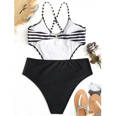 Striped Plus Size MonokiniPlus Size<br>Striped Plus Size Monokini<br><br>Bra Style: Padded<br>Elasticity: Elastic<br>Gender: For Women<br>Material: Nylon, Spandex<br>Package Contents: 1 x Monokini<br>Pattern Type: Striped<br>Support Type: Wire Free<br>Swimwear Type: One Piece<br>Waist: Natural<br>Weight: 0.2300kg