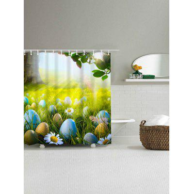 Grass Egg Flower Print Waterproof Shower CurtainShower Curtain<br>Grass Egg Flower Print Waterproof Shower Curtain<br><br>Materials: Polyester<br>Number of Hook Holes: W59 inch*L71 inch: 10; W71 inch*L71 inch: 12; W71 inch*L79 inch: 12<br>Package Contents: 1 x Shower Curtain 1 x Hooks (Set)<br>Pattern: Floral,Leaf,Plant<br>Products Type: Shower Curtains<br>Style: Natural
