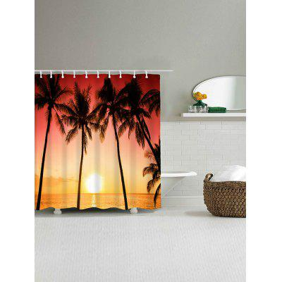 Tropical Seaside Coconut Trees Waterproof Shower CurtainShower Curtain<br>Tropical Seaside Coconut Trees Waterproof Shower Curtain<br><br>Materials: Polyester<br>Number of Hook Holes: W59 inch*L71 inch: 10; W71 inch*L71 inch: 12; W71 inch*L79 inch: 12<br>Package Contents: 1 x Shower Curtain 1 x Hooks (Set)<br>Products Type: Shower Curtains<br>Style: Beach Style
