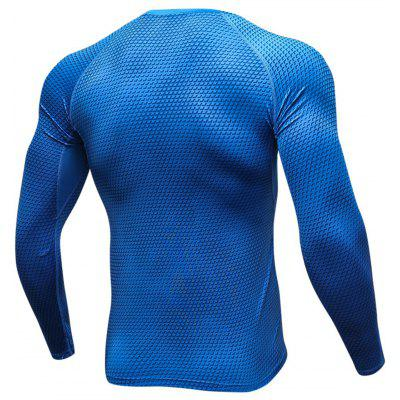3D Geometric Print Quick Dry Stretchy T-shirt3D Geometric Print Quick Dry Stretchy T-shirt<br><br>Elasticity: Elastic<br>Material: Polyester, Spandex<br>Package Contents: 1 x T-shirt<br>Pattern Type: Geometric<br>Type: T-Shirt<br>Weight: 0.2500kg